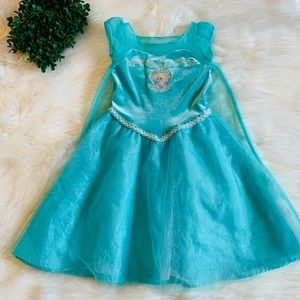 Disney frozen Elsa princess dress
